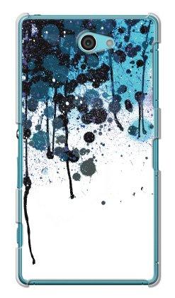 携帯電話taro au Xperia ZL2 SOL25 ケース カバー (ink blue) SONY SOL25-OCA-0154