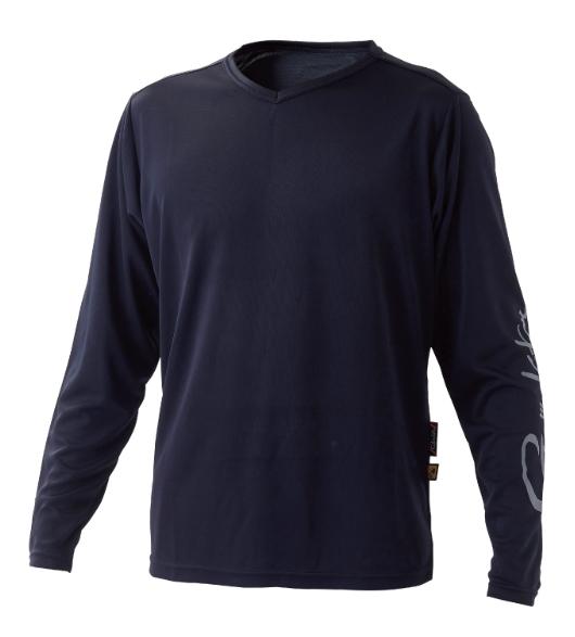 がまかつ NO FLY ZONE(R) ロングスリーブTシャツ GM-3661 ブラック Sサイズ (お取り寄せ)