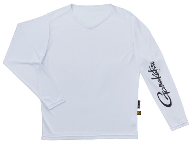 がまかつ NO FLY ZONE(R) ロングスリーブTシャツ GM-3661 ホワイト Sサイズ (お取り寄せ)