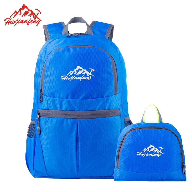 バックパック 折りたたみバッグ アウトドア スポーツ 旅行 キャンプ 軽量 防水