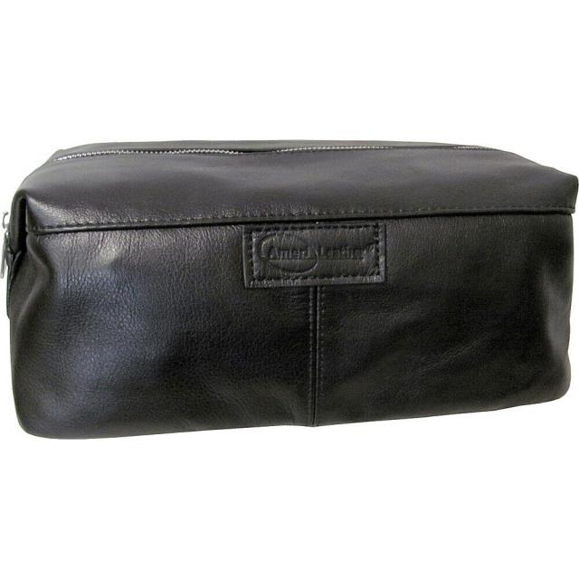 AmeriLeather その他 AmeriLeather Cosmetic/Travel Accessory Bag 3 Colors Toiletry Kit NEW