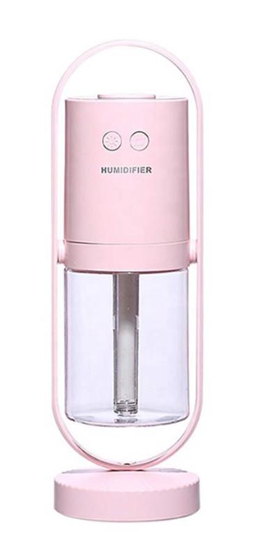 【送料無料】HIDISC イルミネーションLED 加湿器 HDJMK-Y23PK ピンク