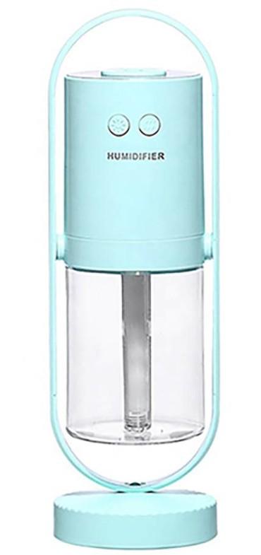 【送料無料】HIDISC イルミネーションLED 加湿器 HDJMK-Y23LB ライトブルー