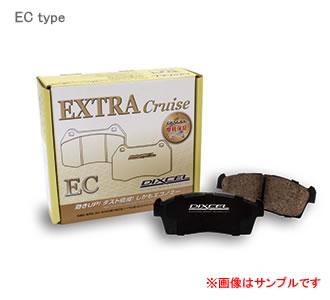 DIXCEL ディクセル ブレーキパッド エクストラクルーズ フロント EC351284 マツダ CX 7 2300 06/12〜 ER3P FF & 4WD