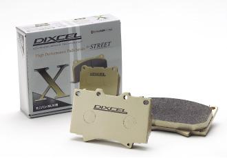 DIXCEL ディクセル ブレーキパッド タイプX リア X355286 マツダ CX 7 2300 06/12〜 ER3P FF & 4WD