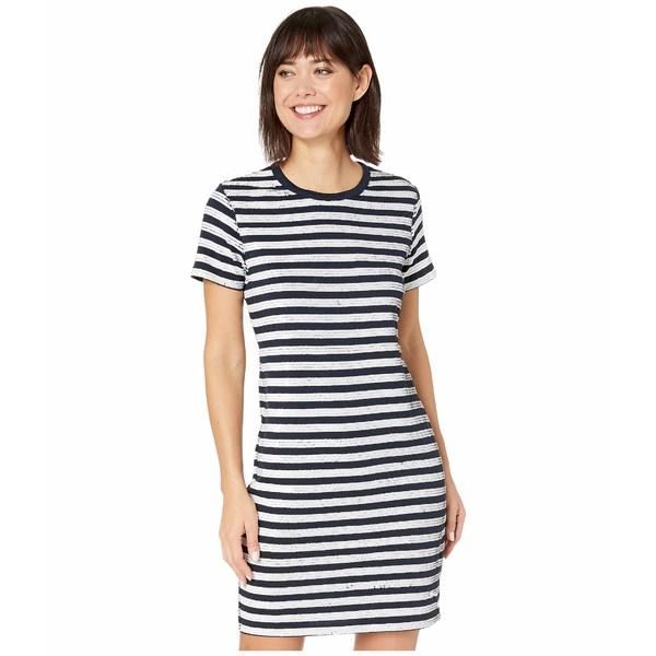 ラルフローレン レディース ワンピース トップス Sequined Short Sleeve Dress Lauren Navy/Mascarpone Cream