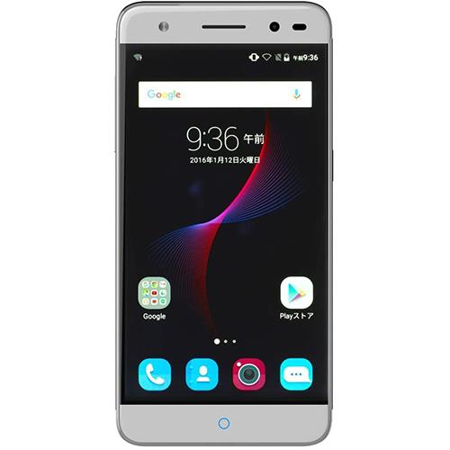 ZTE SIMフリースマートフォン Blade V7 Lite シルバー BLADE V7 LITE SV