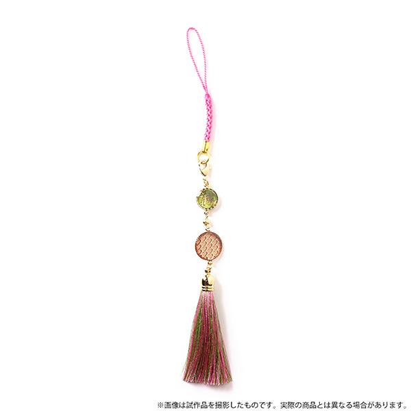 【新品】鬼滅の刃 チャームストラップ 甘露寺 蜜璃