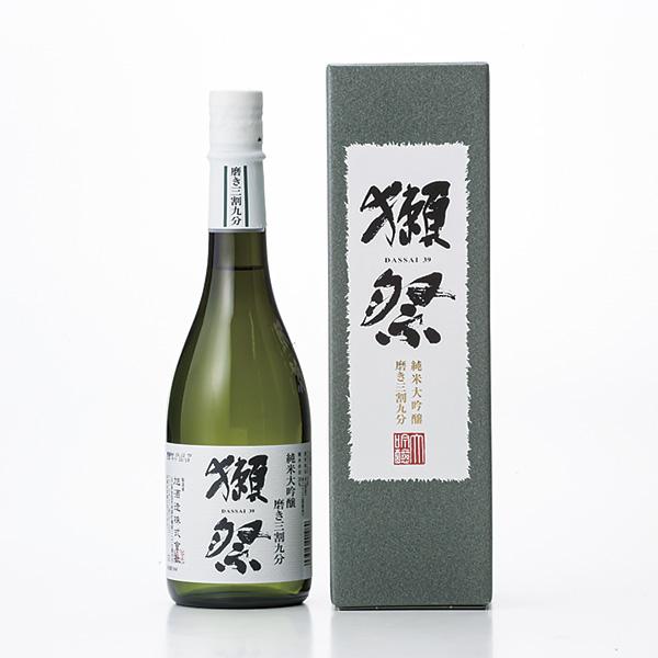 お酒 獺祭 純米大吟醸 磨き三割九分(デラックス箱入り720) ギフト 御祝い 内祝い プレゼント お酒 日本酒