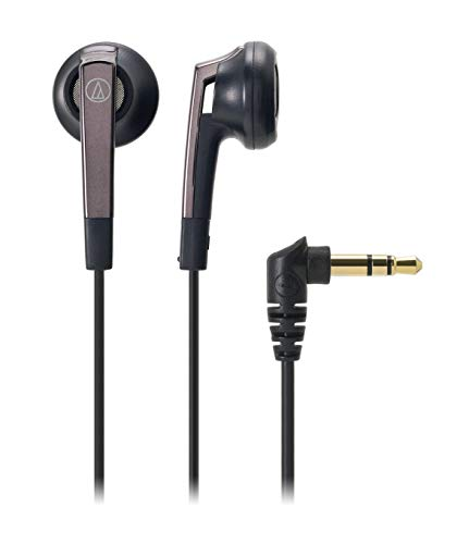 audio-technica イヤホン インナーイヤー型 ブラック ATH-C505 BK