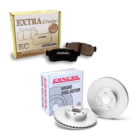DIXCEL ニッサン エルグランド (02/05〜10/08) E51 DIXCEL ブレーキパッドローター EC321497 PD3212913S EC325488 PD3252026S