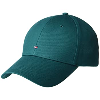 Tommy Hilfiger Tommy Jeans Men's Classic Baseball Cap, Emerald Green, OS