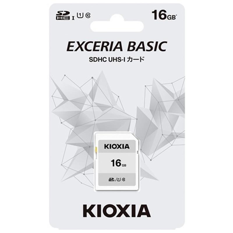 メモリーカード キオクシア microSDXC 16GB