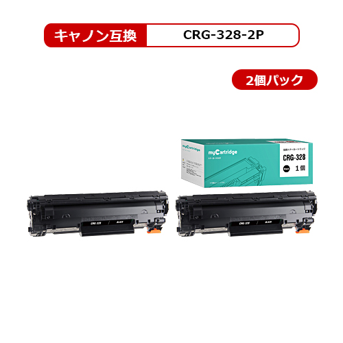 【MC福袋2個セット】 CRG-328 キヤノン 互換 トナー ブラック2本 対応機種:MF4410/ MF4420n/ MF4430/ MF4450/ MF4550d/ MF4570dn/ MF4580