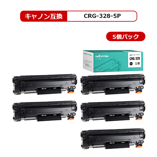 【MC福袋5個セット】 CRG-328 キヤノン 互換 トナー ブラック×5個セット 対応機種:MF4410/ MF4420n/ MF4430/ MF4450/ MF4550d/ MF4570dn